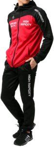 オススメの安いメンズランニングウェア④ソレイルドール「ランニングウェア ジャージ メンズ 上下セット」